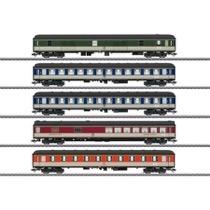 Schnellzugwagen-Set Pop-Farbe