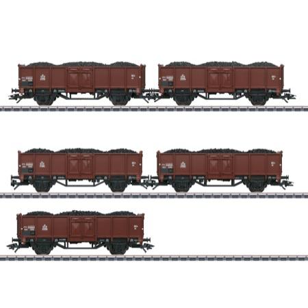 Güterwagen-Set Gt.P DSB