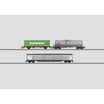 Güterwagen-Set. - Habbillns, Lgs