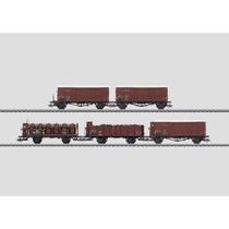 Güterwagen-Set. - ÖBB