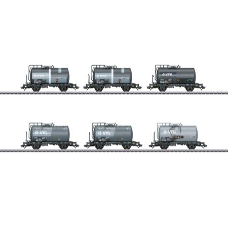 Kesselwagen-Set VTG gealtert