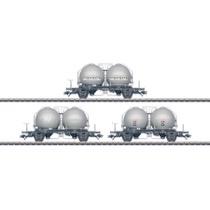 Kugelbehälterwagen-Set NS