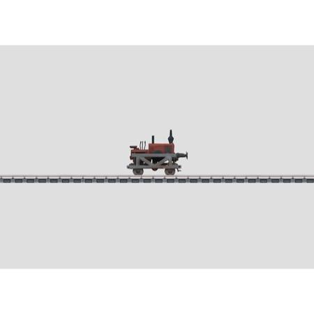 Schienen-Traktor. - Lanz