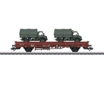 Niederbordwagen m.Unimog DB