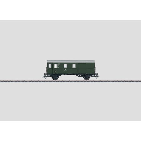 Güterzug-Gepäckwagen. - Pwgs 41