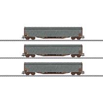 Schiebeplanenwagen-Set SNCF