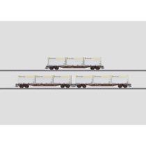 Container-Tragwagen-Set mit WoodTainer XXL Container. - Sgnss