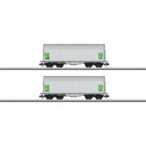Schiebeplanenwagen-Set Shimmnss - Shimmnss, green cargo