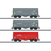 Schiebeplanenwagen-Set Nacco