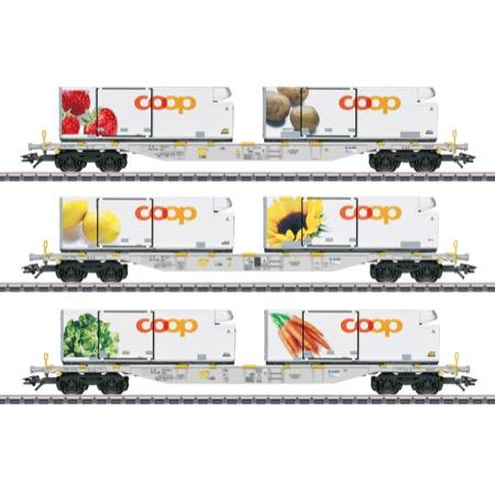 Containerwagen-Set Coop