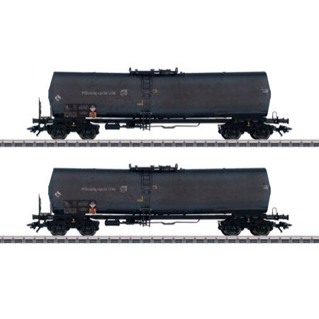 Kesselwagen-Set Green Cargo
