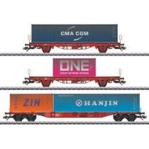 Containerwagen-Set Lgs 580 DB