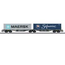 Doppelt-containerbærevogn Sggrss80 RAI