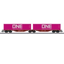 Doppelt-Containerbærevogn Touax B