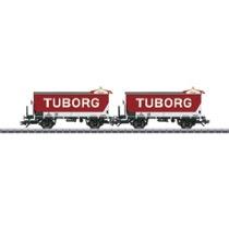 Bierwagen-Set Tuborg Ol DSB