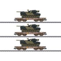 Schwerlastwagen-Set m.Leo 1A5