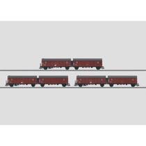 """Güterwagen-Set """"Leig-Einheiten"""". - Leig-Einheit, Bauart Hrs-z 330"""