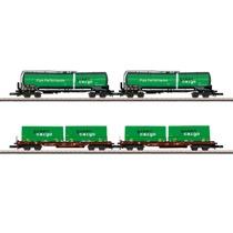 "Güterwagen-Set ""Green Cargo"""