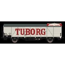 DSB/Tuborg 21 86 081 5 660-8, Hvid,  Tuborg