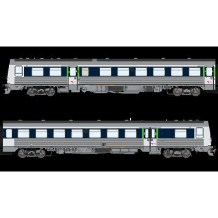 """DSB MR 4082-MRD 4282, Blå/lysblå """"via design"""", AC  AC"""