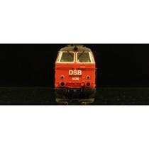 DSB MZ 1439 rød/sort DC digital DC
