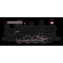 DSB Q 350 damplokomotiv DC dig med lyd DC
