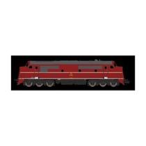 DSB MX 1004 rød/sort DC digital med lyd DC