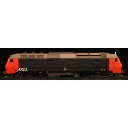 DSB ME 1510, Rød/Sort, DC m. lyd DC