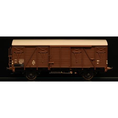 DSB Gs 42714, Brun,  Serie II