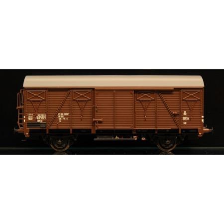 DSB Gs 01 86 120 3 716-8, Brun,  Serie II