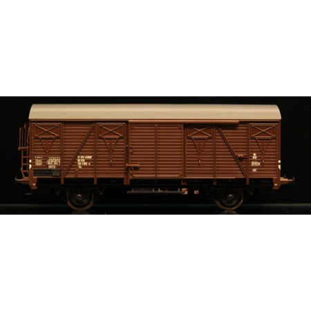 DSB Gs 01 86 120 3 903-4, brun,  Serie II