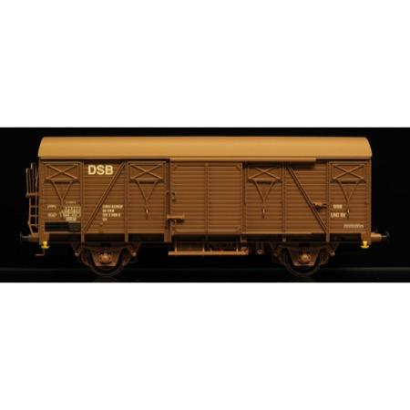 DSB Gs 01 86 120 3 999-2, Lys brun,  Serie II