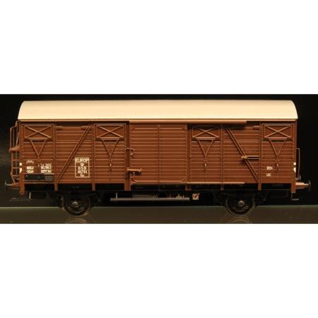 DSB Gs 40701, Brun,  Serie I