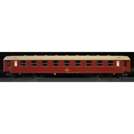 DSB Bgc 50 86 59-64 005-8, Vinrød,  Liggevogn