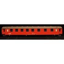 DSB Bv 50 86 28-44 327-9, Designrød,  personvogn
