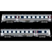 """DSB MR 4050-MRD 4250, Blå/lysblå """"via design"""", DC  DC"""
