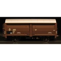 DSB Hs-t 49616, Mørkebrun,  Godsvogn