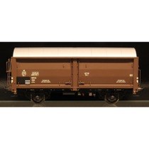 DSB Hs-t 49746, Mørkebrun,  Godsvogn