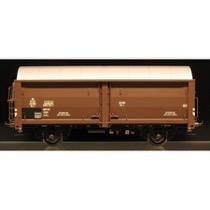 DSB Hs-t 49899, Mørkebrun,  Godsvogn