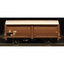 DSB Hs-t 49906, Mørkebrun,  Godsvogn