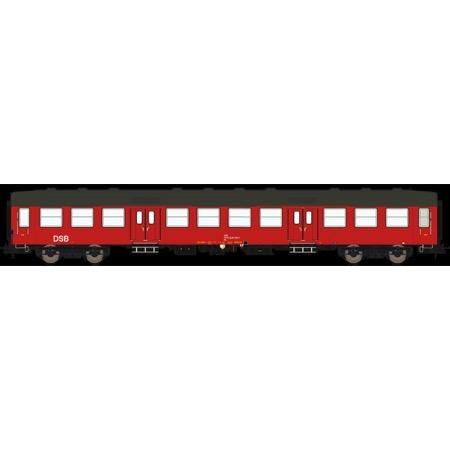 DSB Bn 50 86 20-84 871-7, Designrød,  personvogn