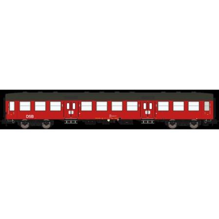 DSB Bn-o 50 86 20-84 811-1, Designrød,  personvogn