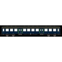 DSB Bn-oi 912, Blå,  personvogn