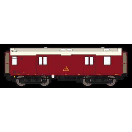 DSB EA 6030, Vinrød,  rejsegodsvogn