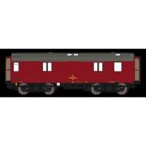 DSB Dh 50 86 92-68 026-9, Vinrød,  rejsegodsvogn