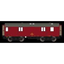 DSB Dh 50 86 92-68 031-9, Vinrød,  rejsegodsvogn
