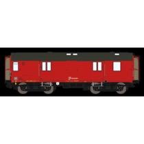 DSB Dh 50 86 92-68 025-1, Designrød,  rejsegodsvogn