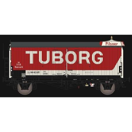 DSB ZB 99 624, Rød/hvid,  TUBORG