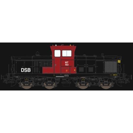 DSB MT 153 - Rød/sort - AC m. lyd AC