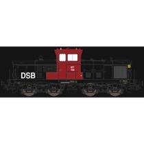 DSB MT 158 - Rød/sort - DC DC